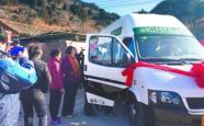 怀柔H75路公交车正式开通 最后一个深山村通公交