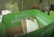 """菜鸟联合快递公司发起""""全国纸箱回收日"""""""